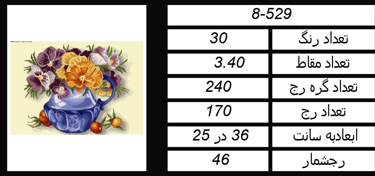 اطلاعات طرح گلدان گل