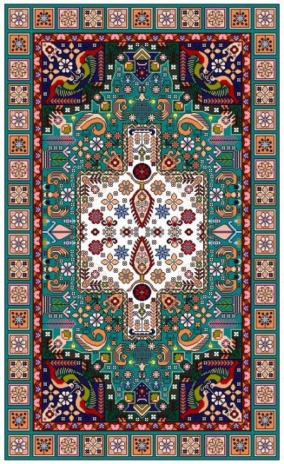 نقشه قالیچه